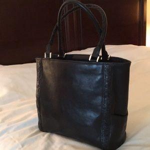 Michael Kors Black Leather Bag/Tote